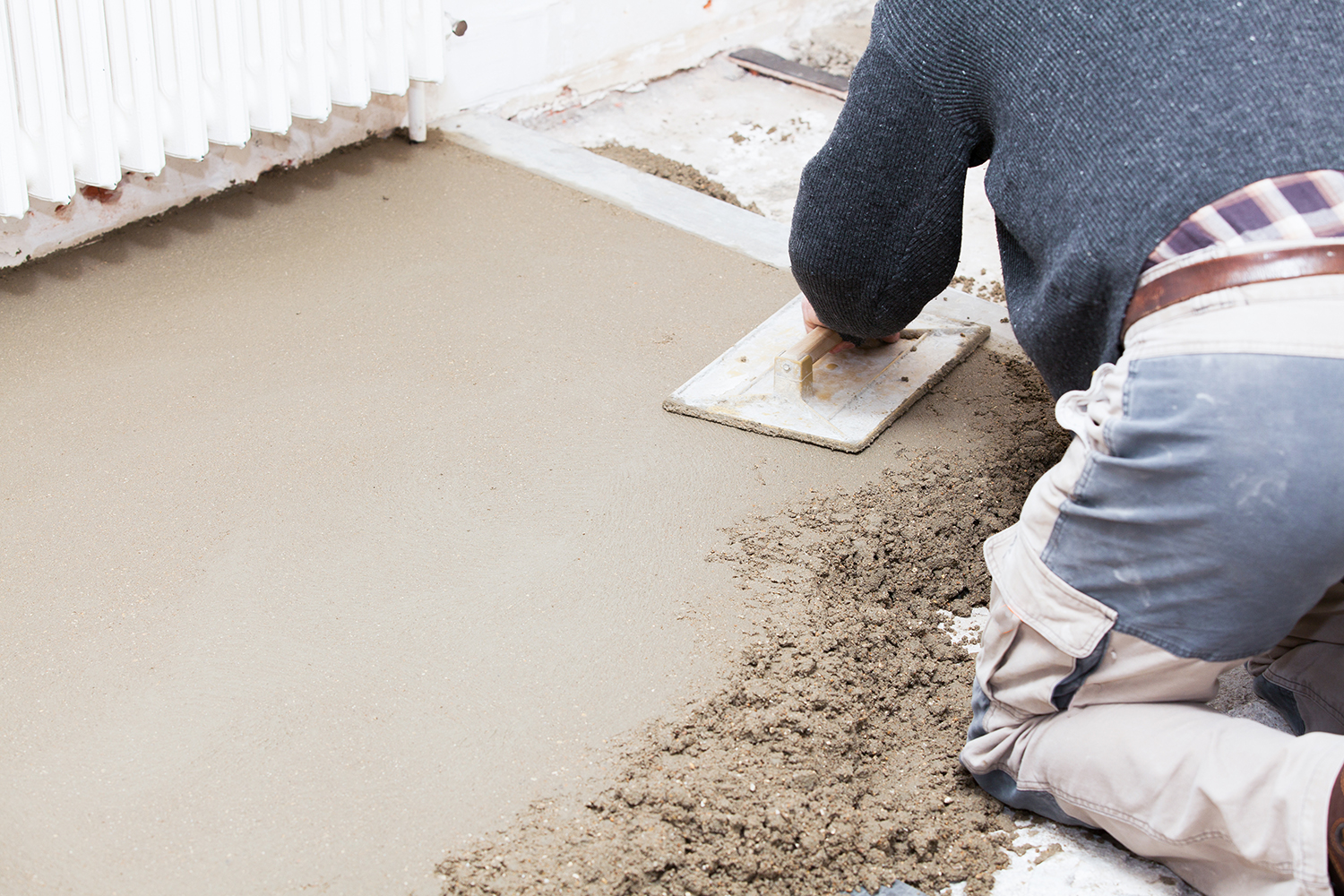 How To Screed A Floor >> Floor Screed Kenny And Murphy Ready Mix Concrete Kenny And